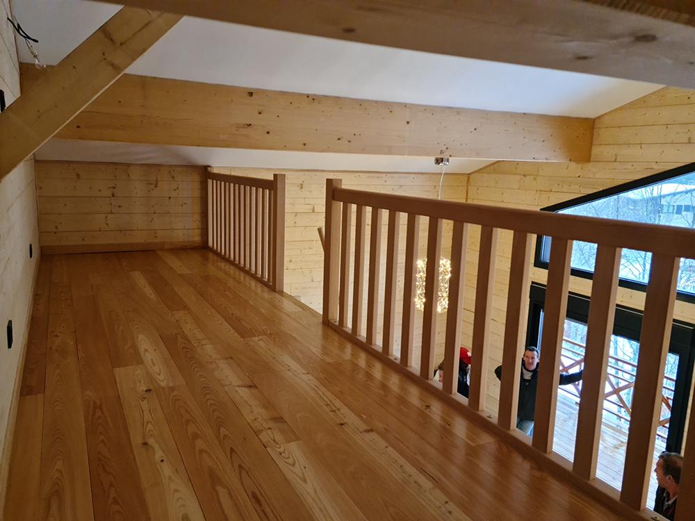 installation garde corp bois ariège