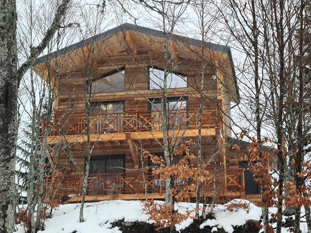 construction bois chalet ariège